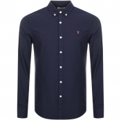 Farah Vintage Brewer Shirt Navy