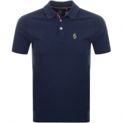 Luke 1977 New Mead Polo T Shirt Navy