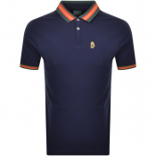 Product Image for Luke 1977 Shooting Star Polo T Shirt Navy