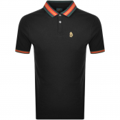 Product Image for Luke 1977 Shooting Star Polo T Shirt Black
