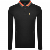 Product Image for Luke 1977 Long Sleeved Polo T Shirt Black
