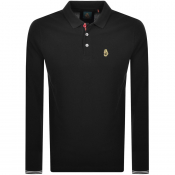 Product Image for Luke 1977 New Mead Long Sleeved Polo T Shirt Black