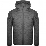 Product Image for Luke 1977 Quilted Hooded Jacket Grey