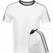 Product Image for Calvin Klein Jeans Monogram Tape T Shirt White