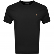 Product Image for Farah Vintage Dennis T Shirt Black