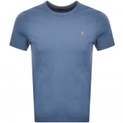 Product Image for Farah Vintage Dennis T Shirt Blue