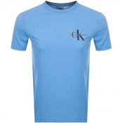 Product Image for Calvin Klein Jeans Monogram Logo T Shirt Blue