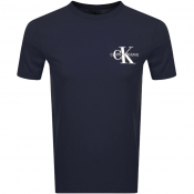 Product Image for Calvin Klein Jeans Monogram Logo T Shirt Navy