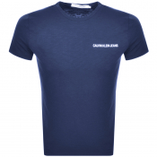 Product Image for Calvin Klein Jeans Institutional Logo T Shirt Navy