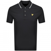 Product Image for Lyle And Scott Short Sleeved Polo T Shirt Black