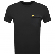 Product Image for Lyle And Scott Crew Neck Pocket T Shirt Black
