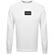 Product Image for Calvin Klein Jeans Institutional Sweatshirt White