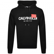Product Image for Calvin Klein Reverse Logo Hoodie Black