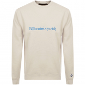Product Image for Billionaire Boys Club Logo Sweatshirt Cream