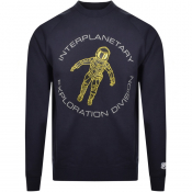 Product Image for Billionaire Boys Club Logo Sweatshirt Navy