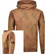 Product Image for Billionaire Boys Club Bleach Logo Hoodie Brown