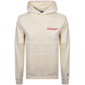 Product Image for Billionaire Boys Club Robotic Logo Hoodie Cream