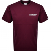 Product Image for Billionaire Boys Club Logo T Shirt Burgundy