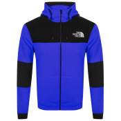The North Face Himalayan Full Zip Hoodie Blue