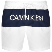 Calvin Klein Swim Shorts White