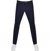Gant Slim Chino Trousers Navy