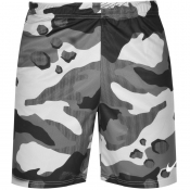 Product Image for Nike Training Dry Camo Logo Swim Shorts Grey