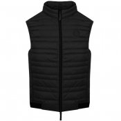 Armani Exchange Quilted Down Gilet Black