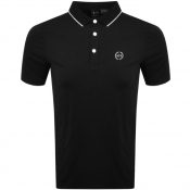 Product Image for Armani Exchange Tipped Polo T Shirt Black