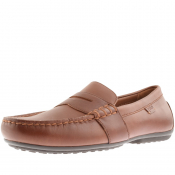 Ralph Lauren Reynold Driver Shoes Brown