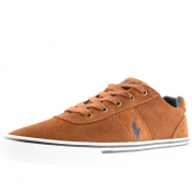Product Image for Ralph Lauren Hanford Suede Trainers Brown