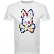 Product Image for Psycho Bunny Graphic Crew Neck T Shirt White