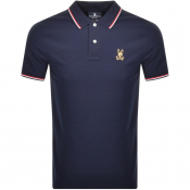 Product Image for Psycho Bunny Short Sleeved Polo T Shirt Navy