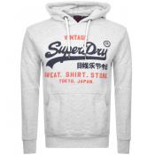 Superdry Vintage Sweat Shop Duo Hoodie Grey