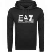 Product Image for EA7 Emporio Armani Visibility Logo Hoodie Black