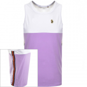 Product Image for Luke 1977 Watson Vintage Tape Vest T Shirt Lilac