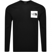 The North Face Long Sleeve Fine 2 T Shirt Black