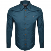 Product Image for Vivienne Westwood Poplin Classic Shirt Green