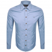 Product Image for Vivienne Westwood Poplin Classic Shirt Blue
