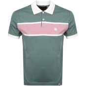 Pretty Green Lloyd Polo T Shirt Green