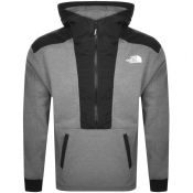 Product Image for The North Face Half Zip Relaxed Fit Hoodie Grey
