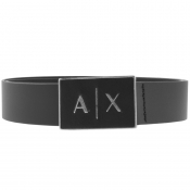 Product Image for Armani Exchange Leather Belt Black