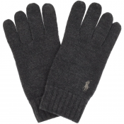 Product Image for Ralph Lauren Wool Gloves Grey
