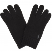 Ralph Lauren Wool Gloves Black