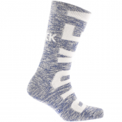 Product Image for Birkenstock Slub Logo Socks Blue