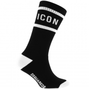 Product Image for DSQUARED2 Underwear Icon Socks Black