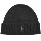 Product Image for Ralph Lauren Beanie Hat Grey