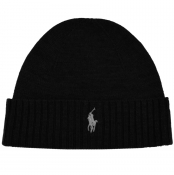Ralph Lauren Beanie Hat Black