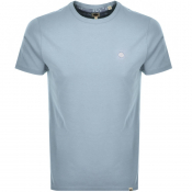 Product Image for Pretty Green Crew Neck T Shirt Blue