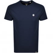 Pretty Green Crew Neck T Shirt Navy