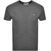 Product Image for Vivienne Westwood Small Orb Logo T Shirt Grey